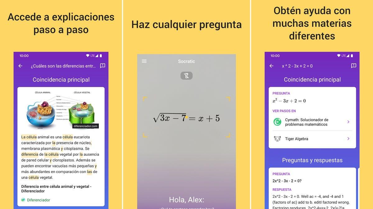 Haz una foto de tu tarea y esta app de Google resolverá los ejercicios