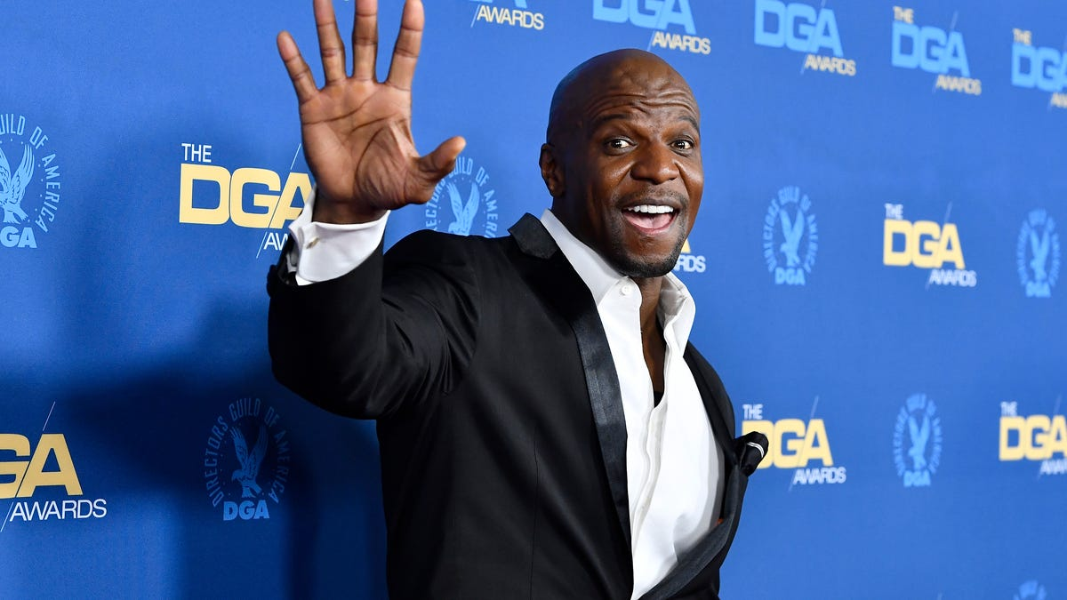 Terry Crews Is Ashy