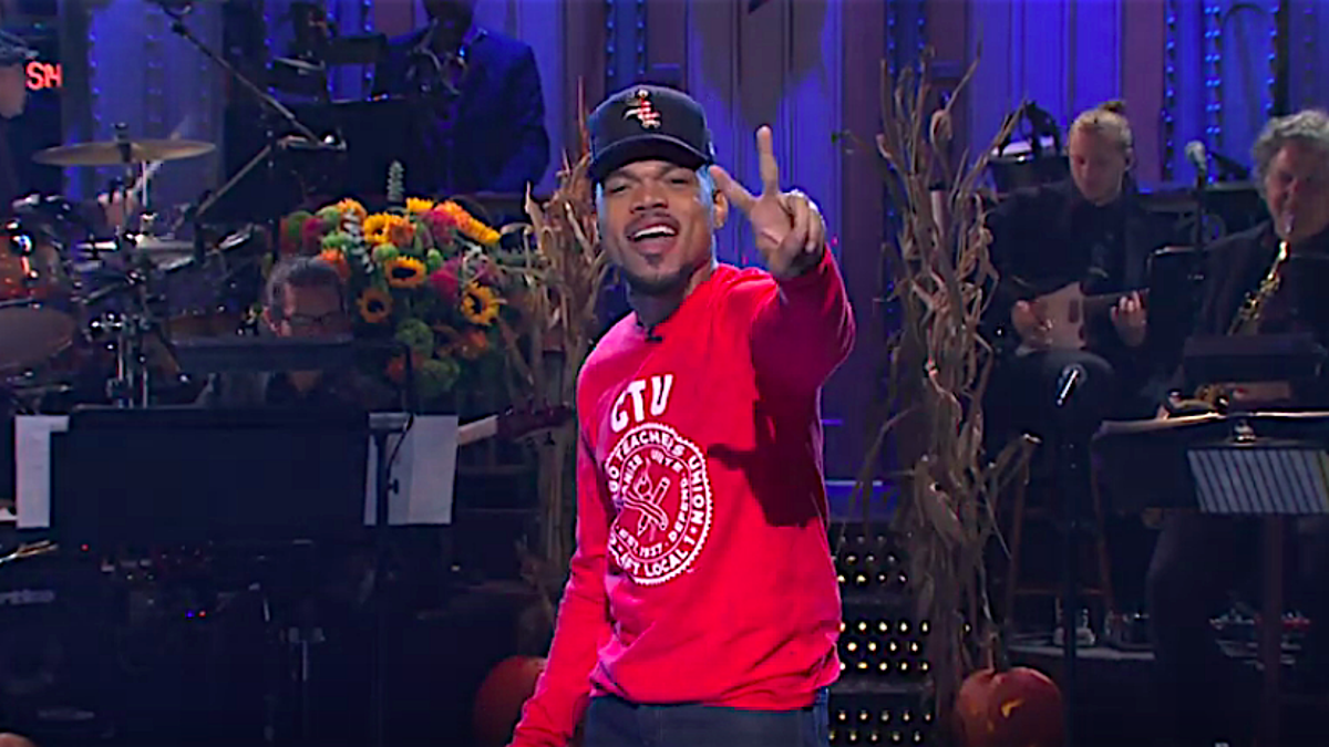Chance The Rapper returns for a second round of excellent SNL double duty