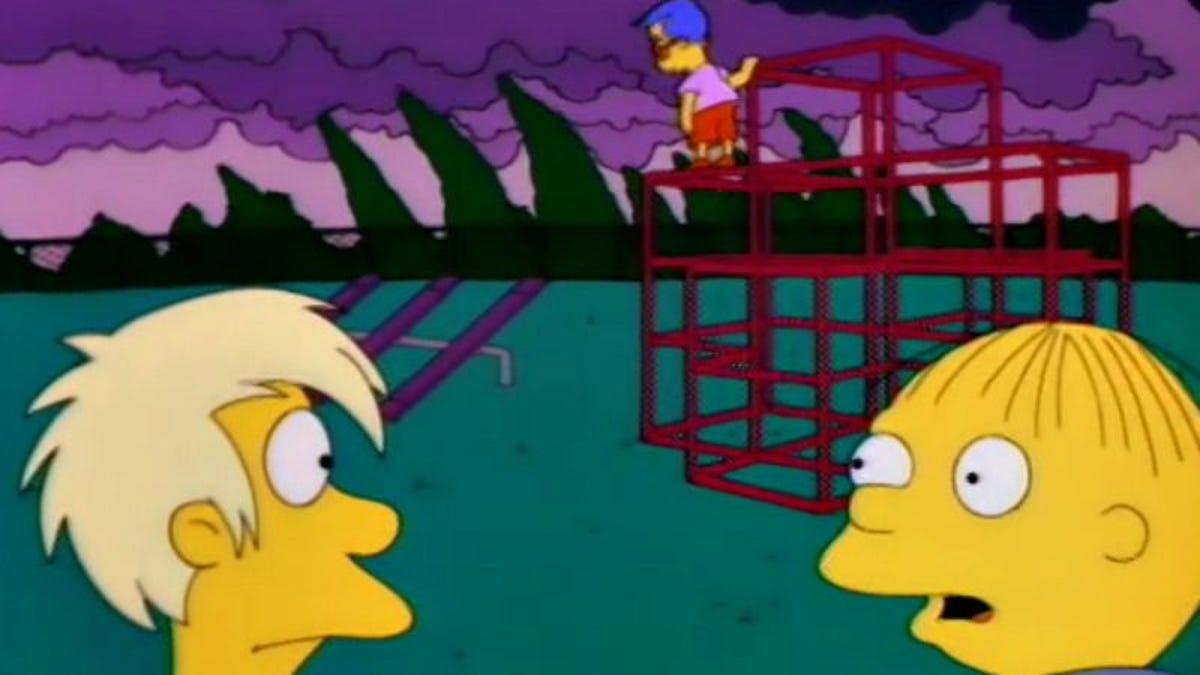 "Bart Fucks Milhouse the simpsons (classic): ""bart's friend falls in love"""