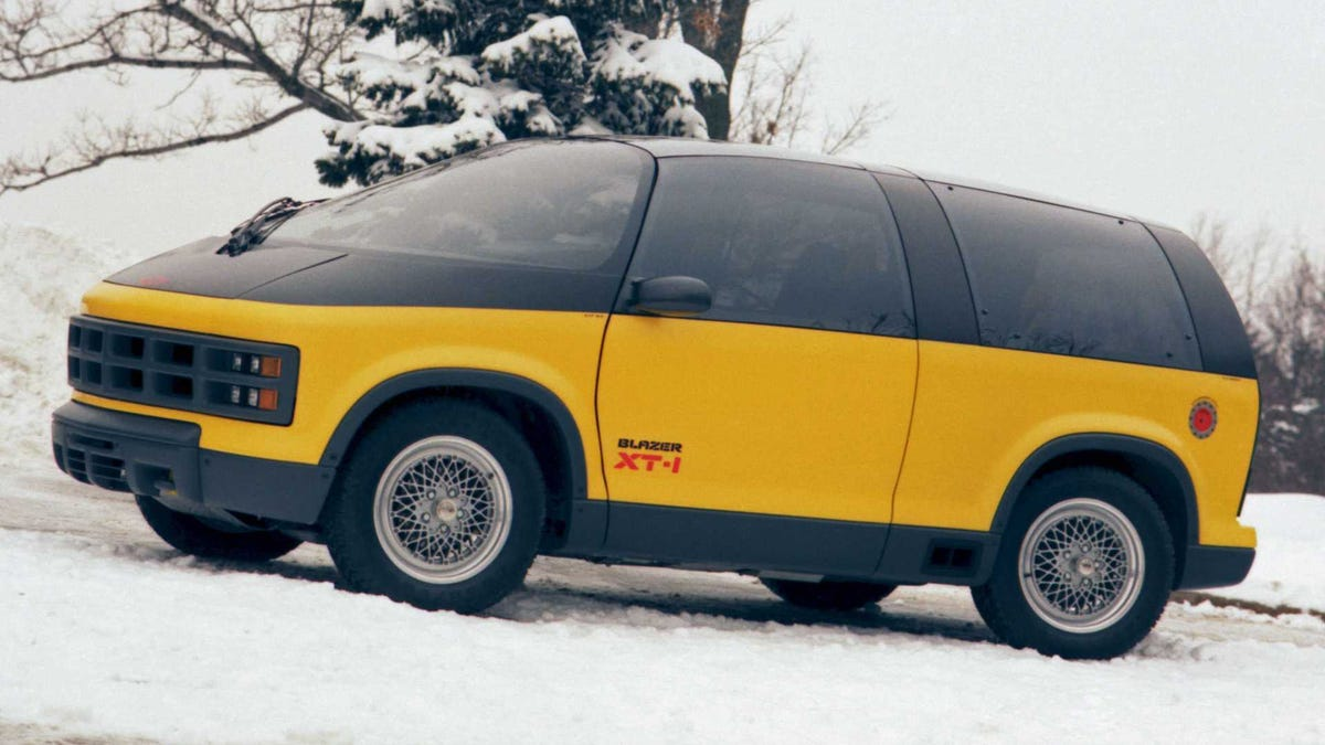 I Want To Press Every Single Button In The 1987 Chevy Blazer XT-1 Concept