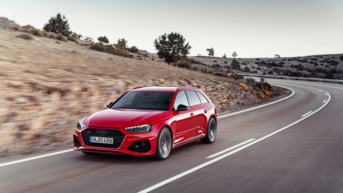 The Audi RS4 Avant Has Been Updated To Look More Like Its RS6 Big Brother