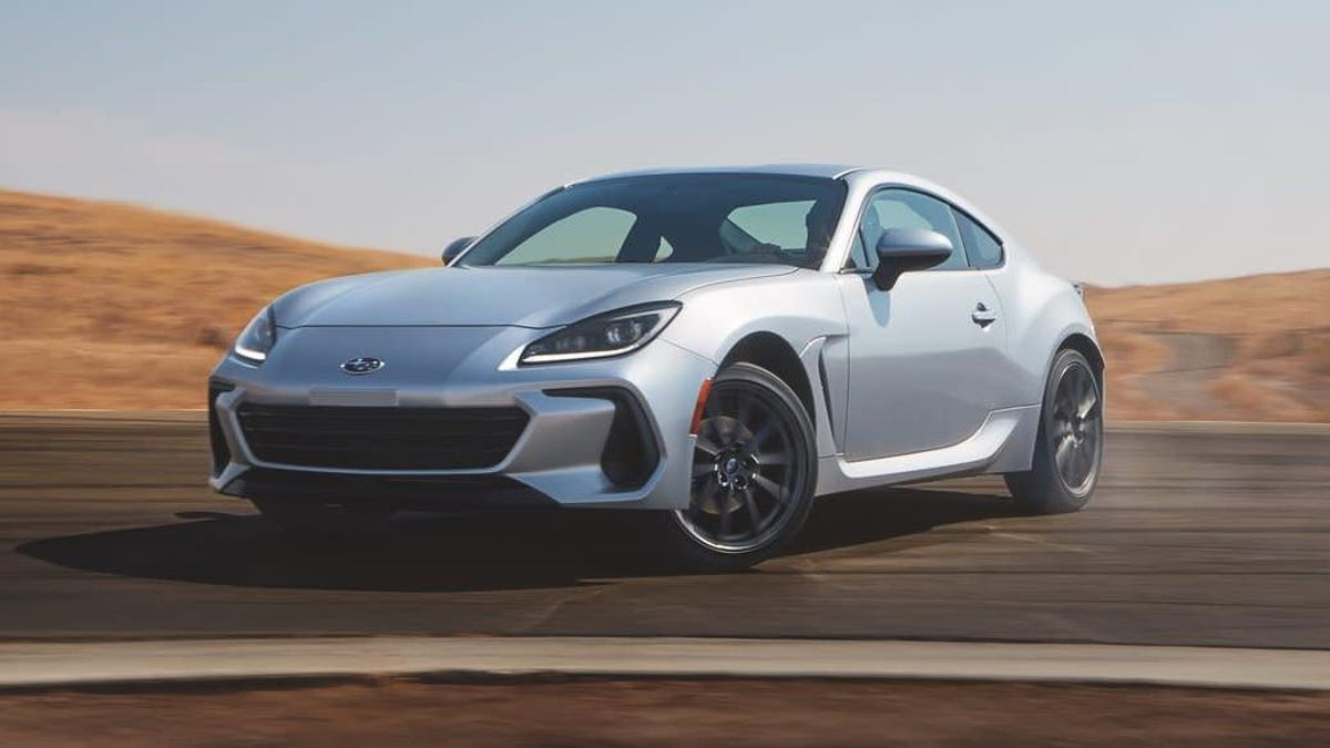 Subaru Wants To Make One Thing Absolutely Clear: The 2022 BRZ Loves To Slide