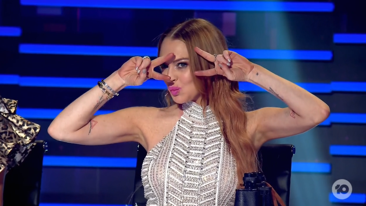 So, How Was Lindsay Lohan as a Judge on The Masked Singer?