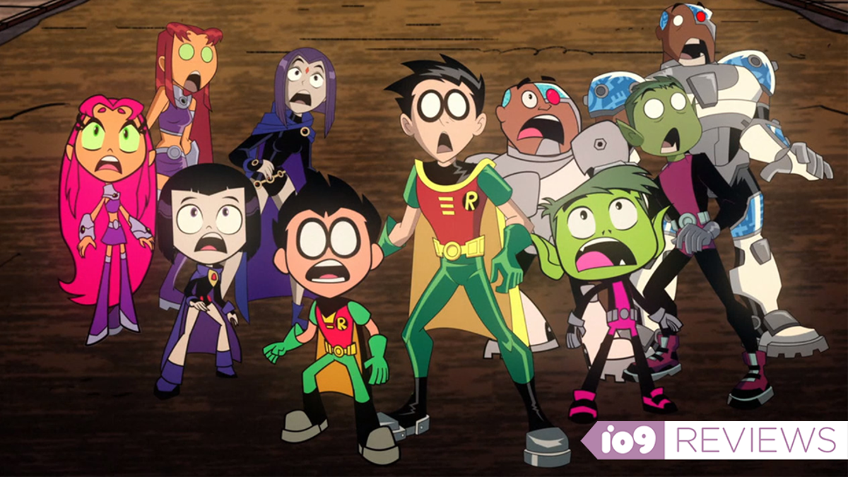 Teen Titans Go! Vs. Teen Titans Champions One of Superhero Comics' Most Enduring Qualities