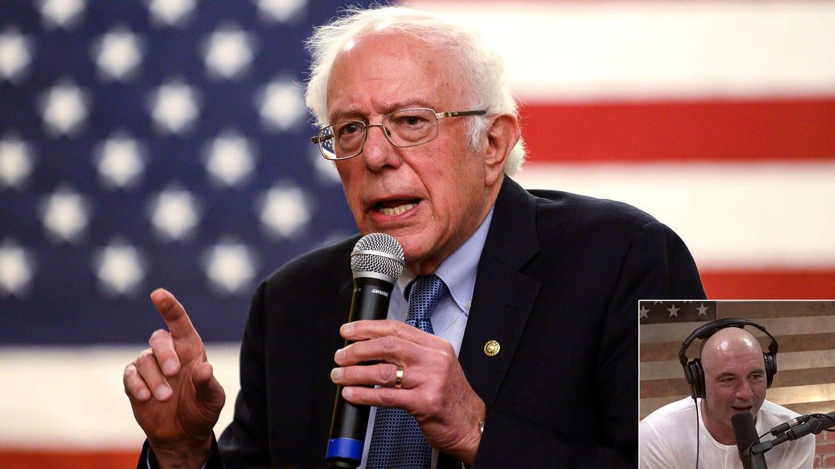 Die Liberalen Sagen, Sanders Akzeptanz Von Rogan Bestätigung Sendet Gefährliche Botschaft, die Er Versucht, um Zu Gewinnen die Wahl