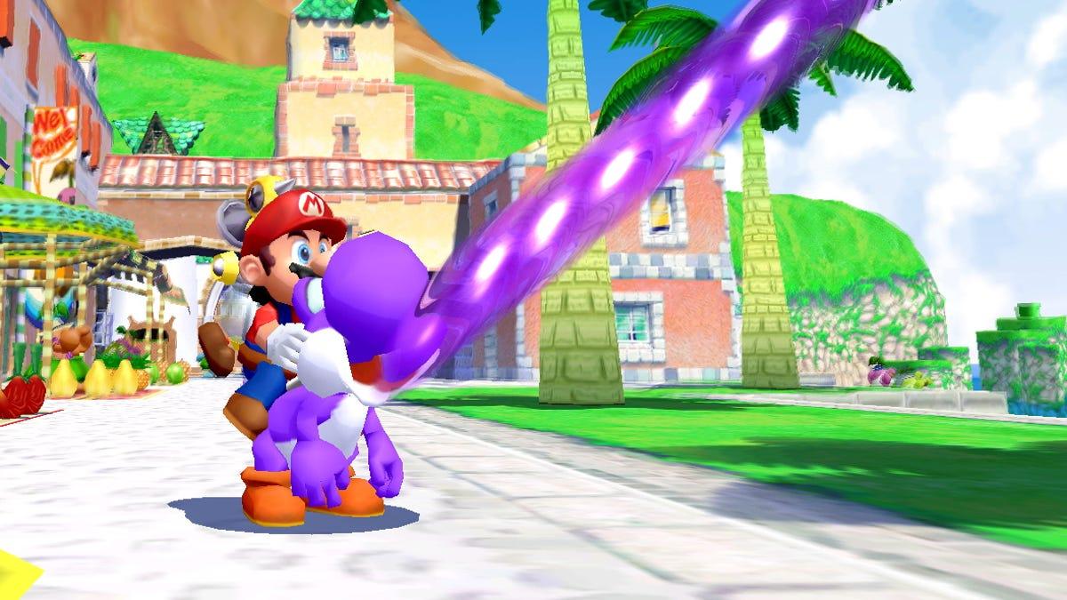 Super Mario Sunshine Gets GameCube Controller Support In Super Mario 3D All-Stars