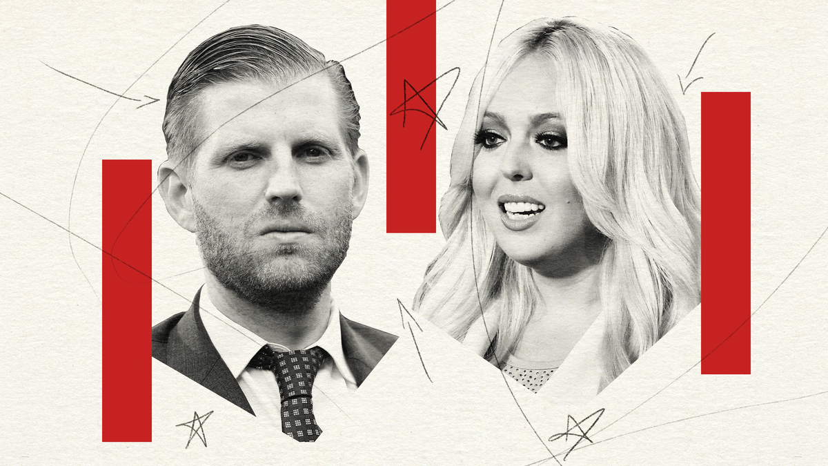 Eric and Tiffany Trump, the 'Other' Children, Were Just As Complicit