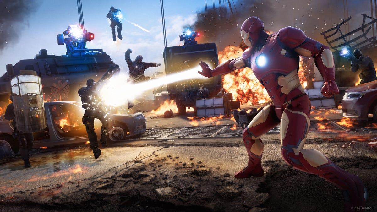 Probé el nuevo juego de los Avengers y es mejor de lo que esperaba