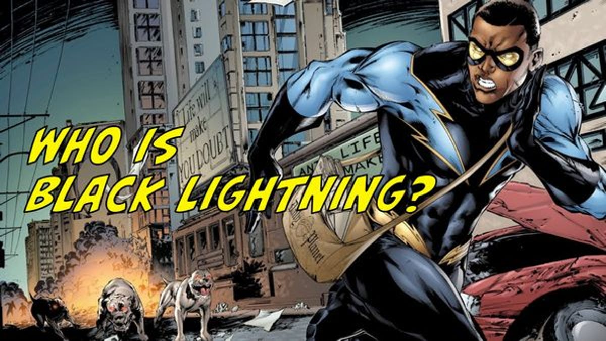 Here's everything you should know about Black Lightning