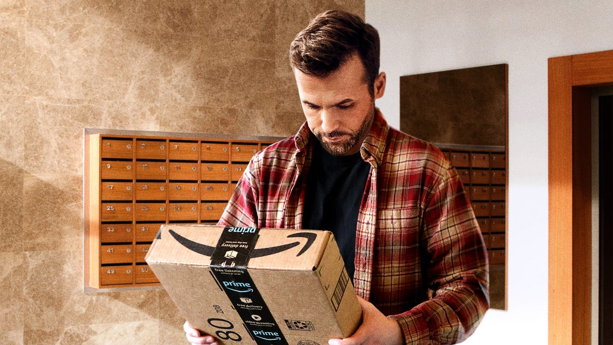 Man Who Didn't Order Anything Online Still Checks Name On Package Just In Case Amazon Sent Him A Little Present