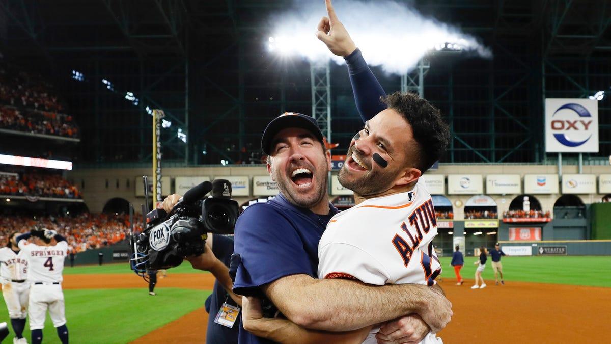 Jose Altuve Sends Astros To World Series With Walk-Off Bomb Against Aroldis Chapman