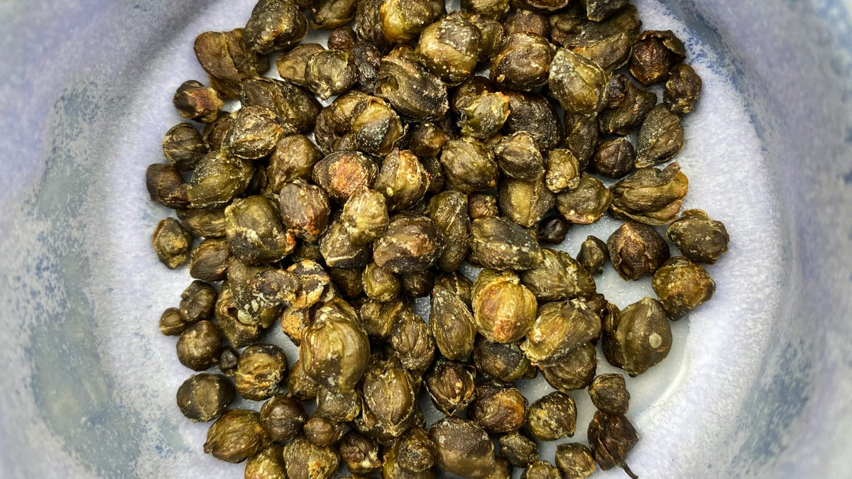 You Should Air Fry Some Capers