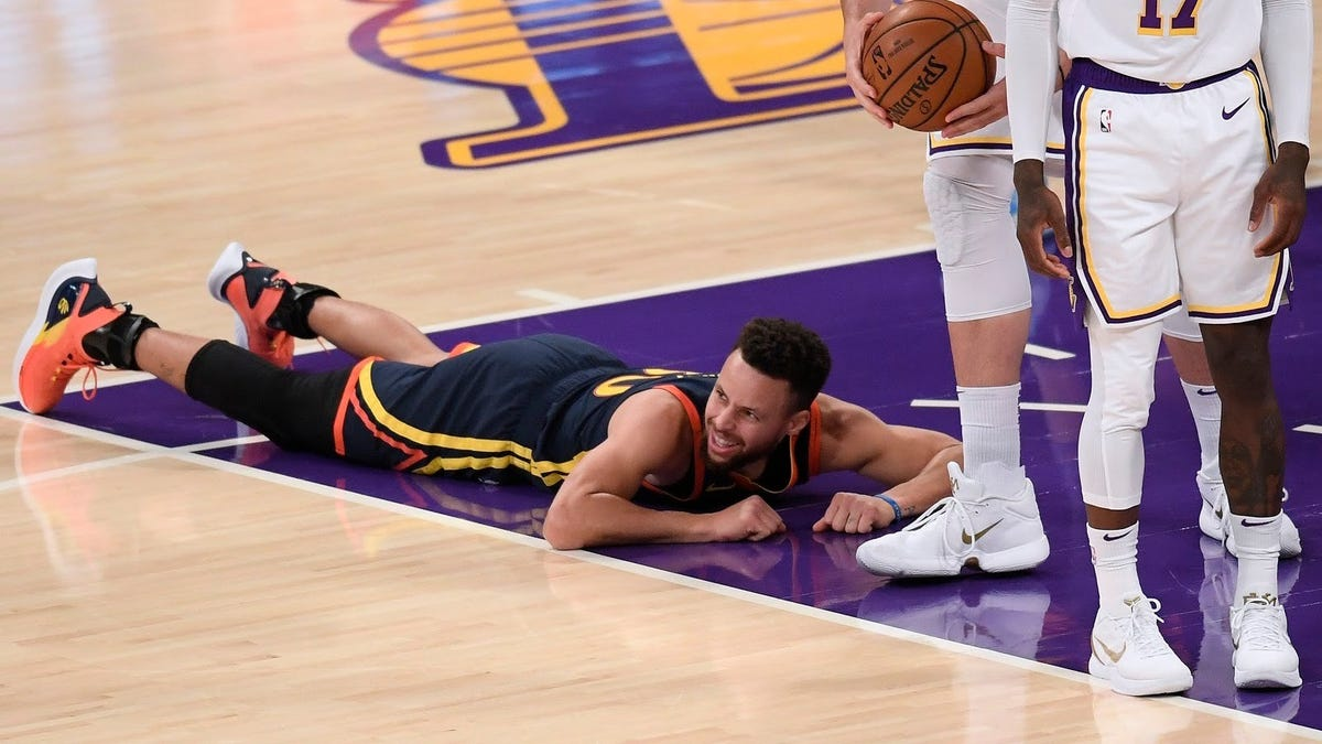 Steph Curry is tired of getting run off the floor, so get him some help, Golden State