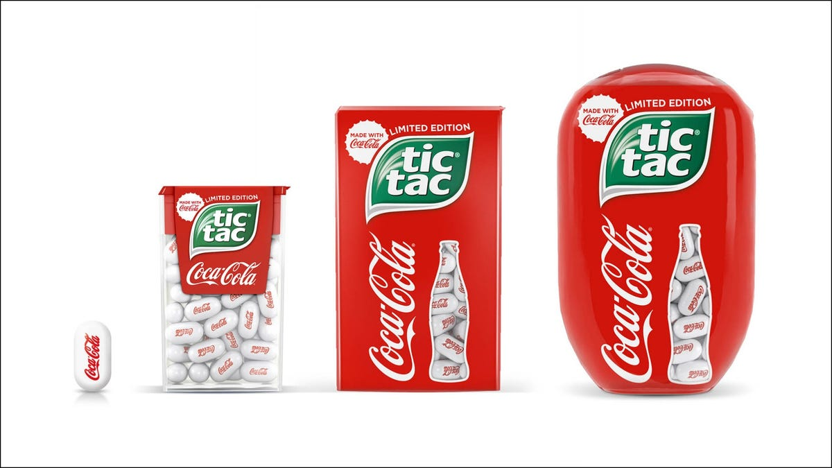 Tic Tac's new Coca-Cola flavor reminds us Tic Tacs exist