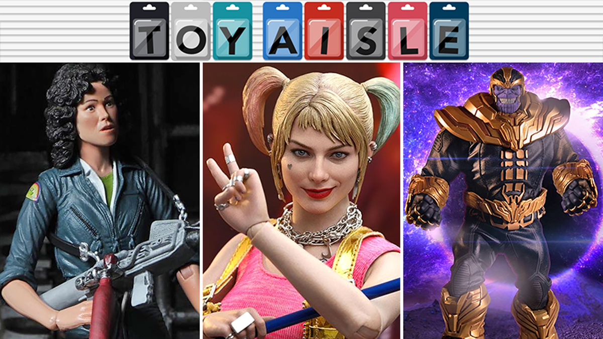 Harley Quinn Gets a Suitably Fantabulous New Figure, and More of the Coolest Toys of the Week