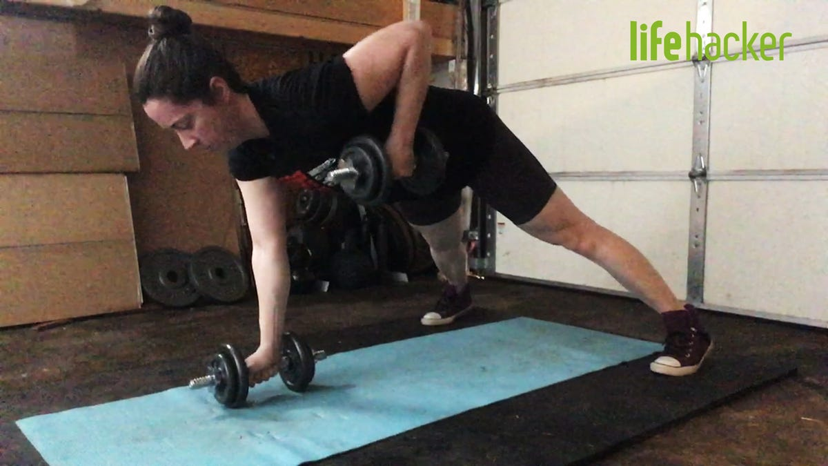 Do This Dumbbell Workout From Home