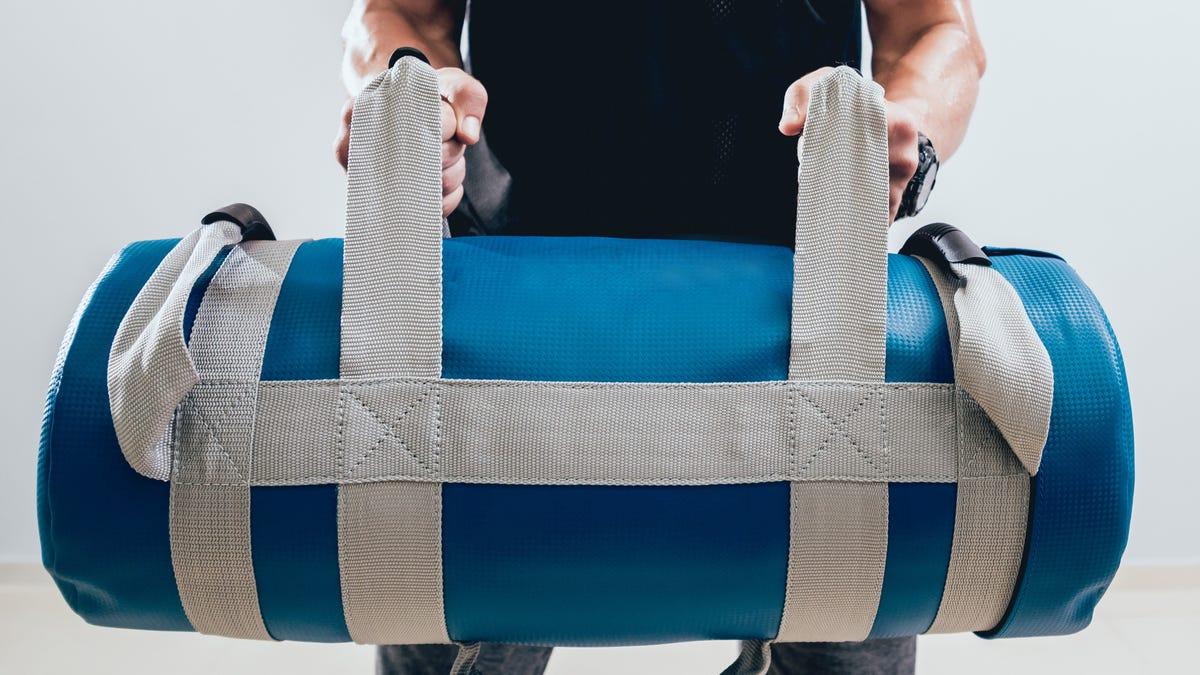 Our Last Sandbag Exercise Is the Flippy Sandbag Clean
