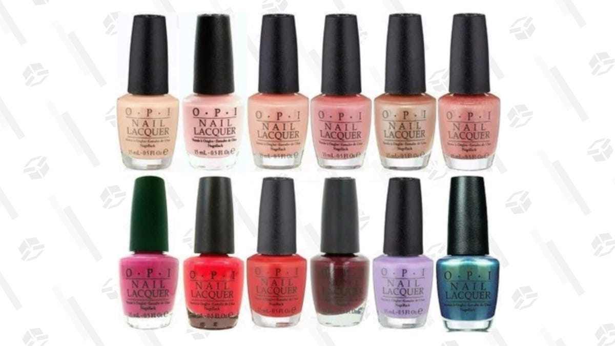 Get a 5-Pack of OPI Nail Polish For Just $17