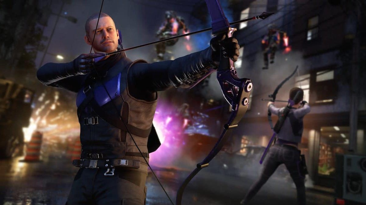 Marvel's Avengers Receives Hawkeye, Next-Gen Versions On March 18