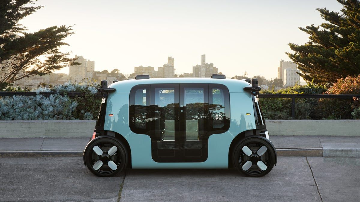 This Is What Your Future Amazon Robotaxi Will Look Like