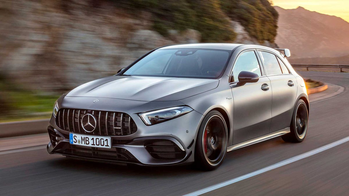 The 2020 Mercedes-AMG A45 S Is the Hottest Hatch With a Wholly Unnecessary and Very Good 416 Horsepower