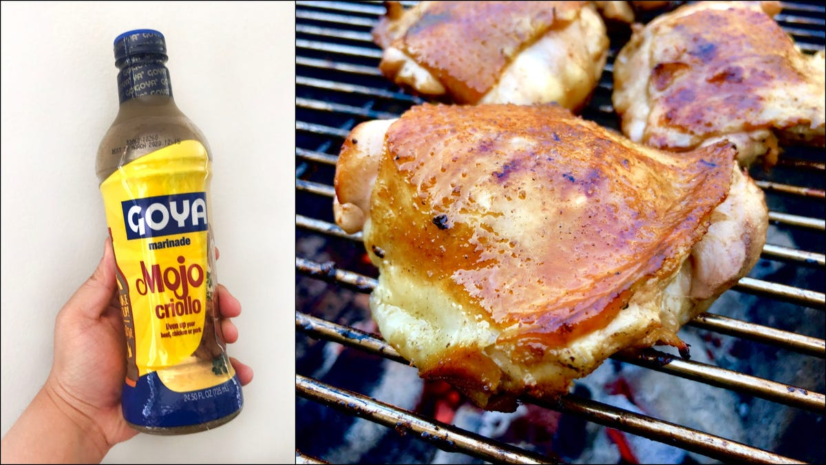Mojo Criollo is my all-time favorite chicken marinade