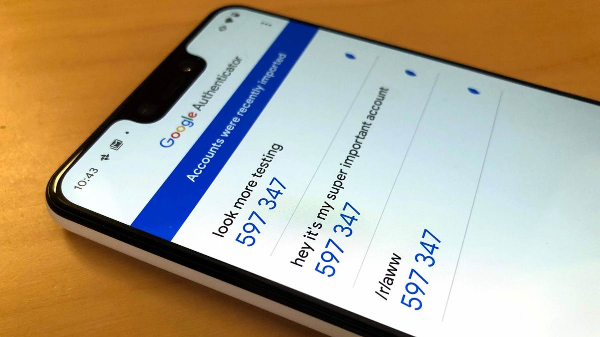 How to Transfer Google Authenticator to Another Android