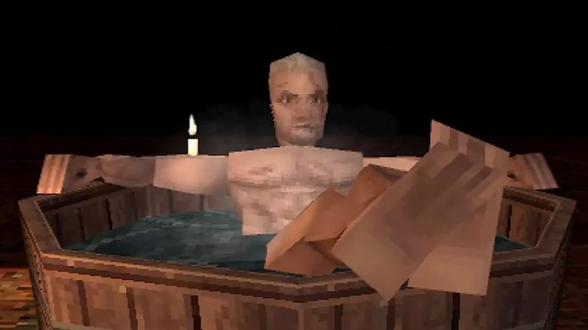 Here's The PS1 Version Of The Witcher 3 Tub Scene - Kotaku
