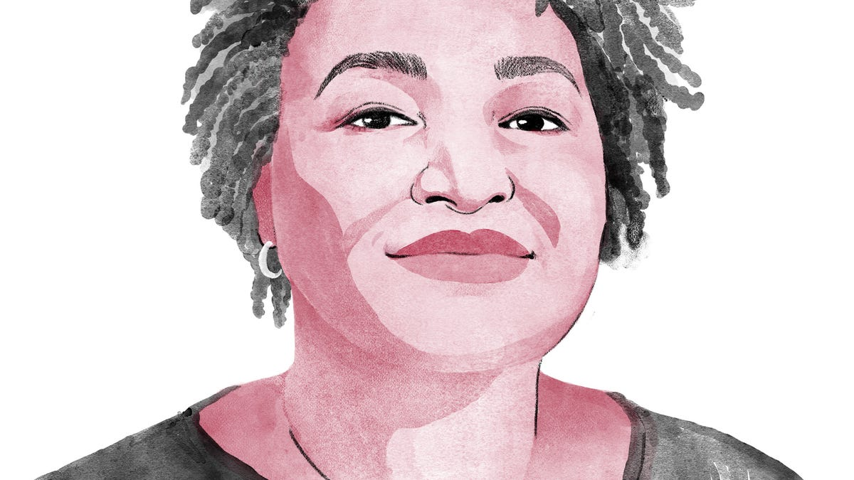 Stacey Abrams, Who Delivered a Perfect Ending