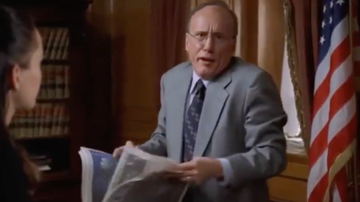 Revisit the Rudy Giuliani performance that earned James Woods an Emmy nomination