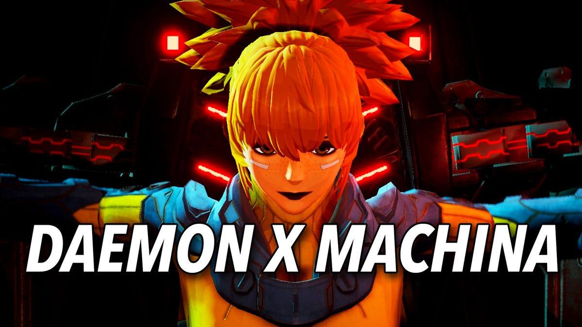 Daemon X Machina's Flashy Mech Gameplay In Action
