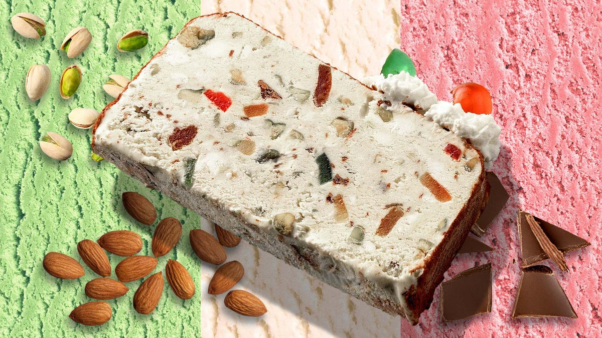 Spumoni is a perfect blend of imperfections