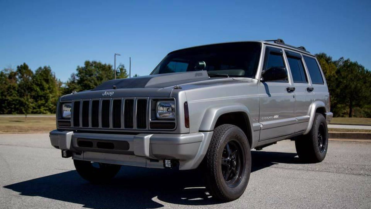 For 15 000 Could This Chevy Powered 2000 Jeep Cherokee Be The Ls Thing You Need