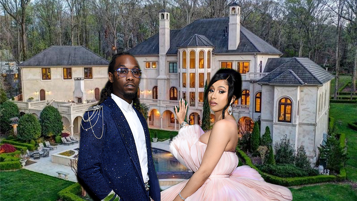 Cardi B And Offset Bought A Really Big Mansion