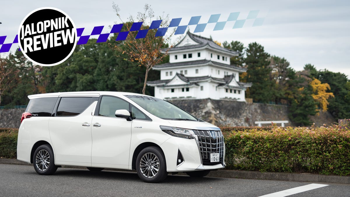 The Toyota Alphard Is the Opulent Luxury Minivan the Rest of the World Needs