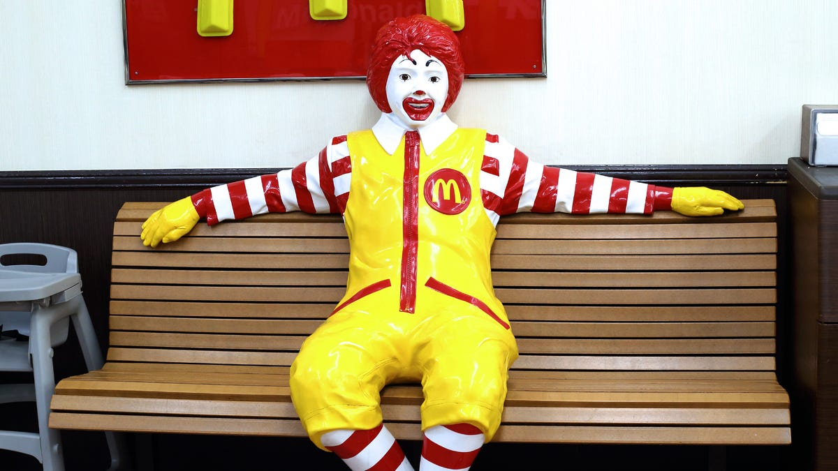 Ronald McDonald's Name Is Slightly Different In Japan