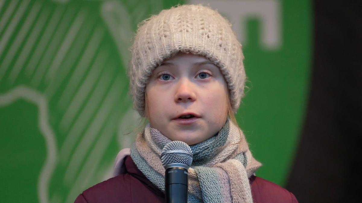 Oil And Gas Goons Use Sexual Abuse Image To Mock Greta Thunberg
