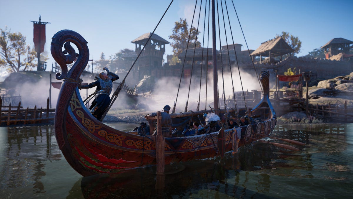 Assassin's Creed Valhalla's New River Raids Ain't It