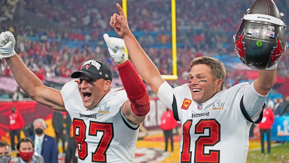 The Patriots won Tampa Bay a Super Bowl