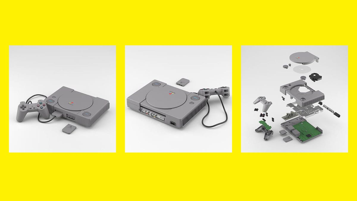 Tiny PlayStation Toy Even Has The Internal Circuitry