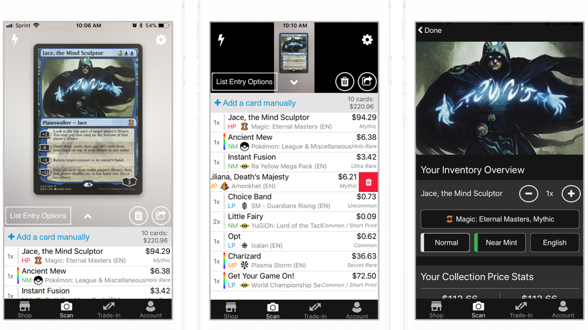 Organize Your Trading Card Game Collections With These Apps Build and analyze your magic: trading card game collections