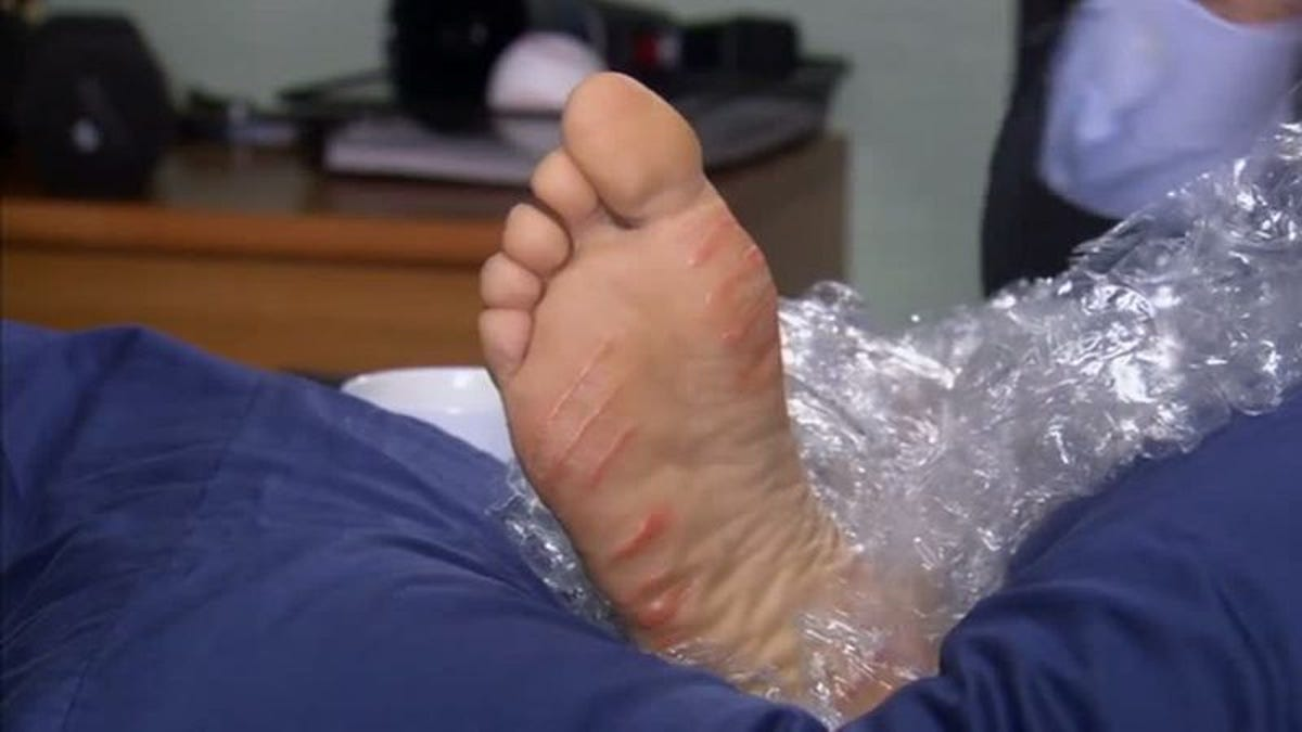 "Ana Brenda Feet the office (classic): ""booze cruise""/""the injury"""