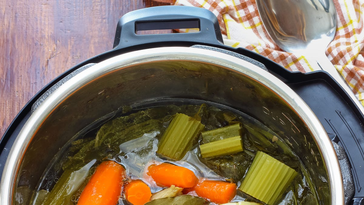 Last Call: If you have an Instant Pot and don't use it to make stock, listen up