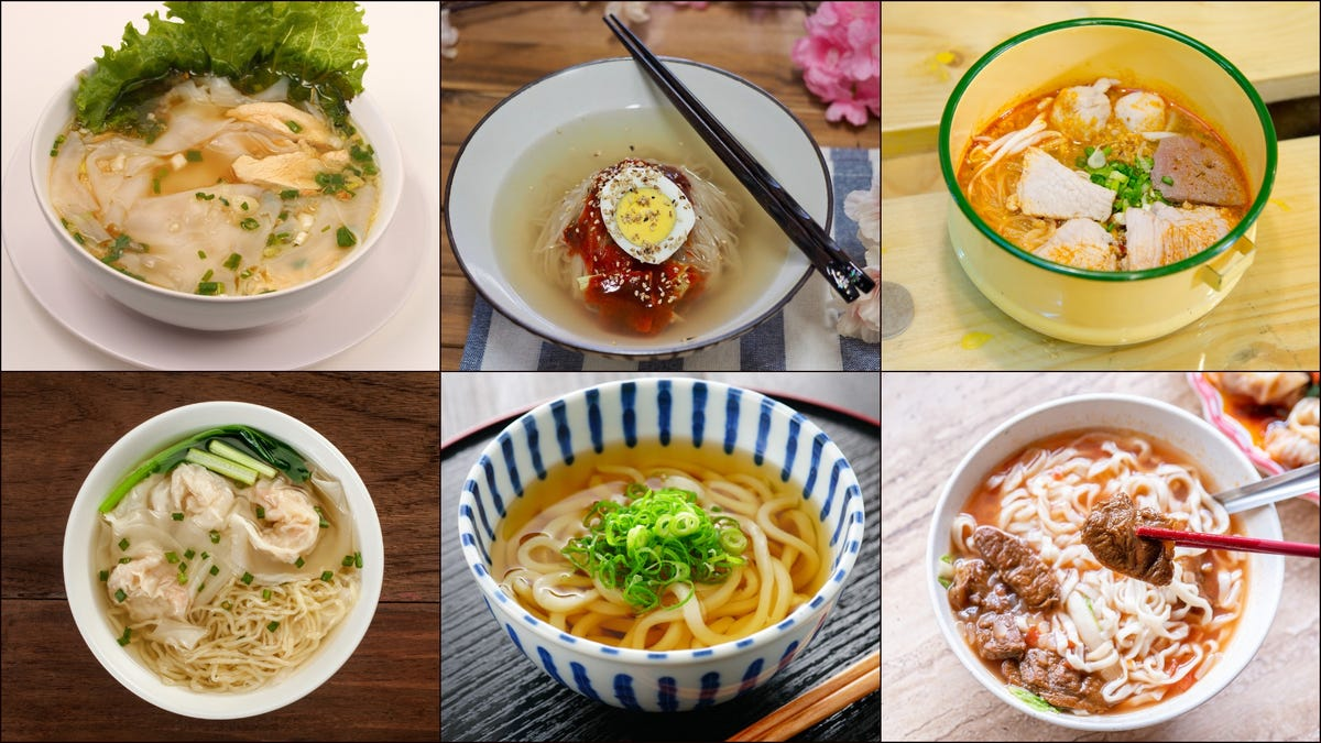 Slurp's up: There's a whole world of noodle soups beyond Campbell's