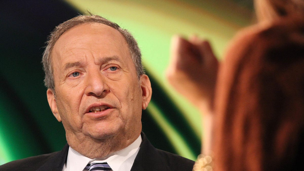 Climate Horror Show Larry Summers Is Reportedly Advising Joe Biden