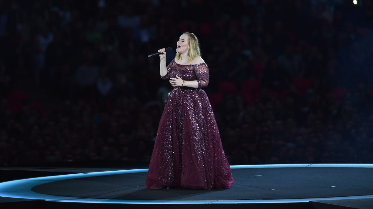 Adele told some friends that she'll release a new album this year