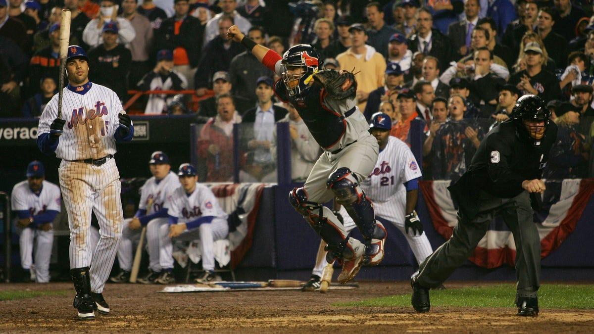 10 Years Ago Today, Carlos Beltran Didn't Swing