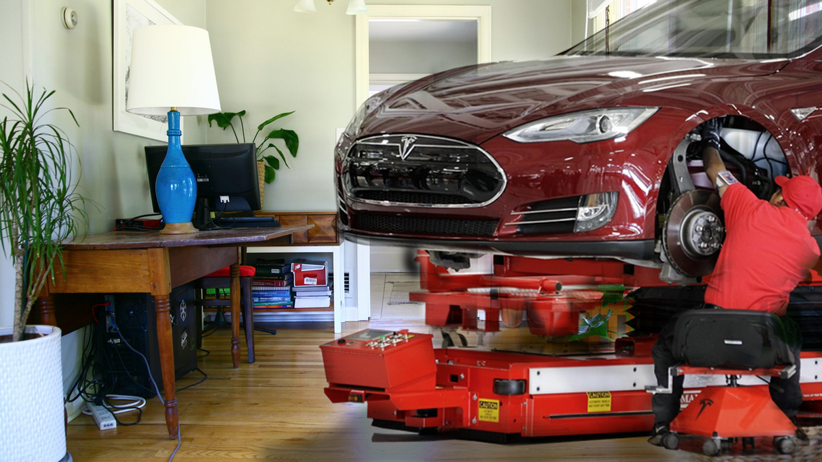 Tesla Announces Plans For Workers To Build Cars At Home Due To Coronavirus Concerns