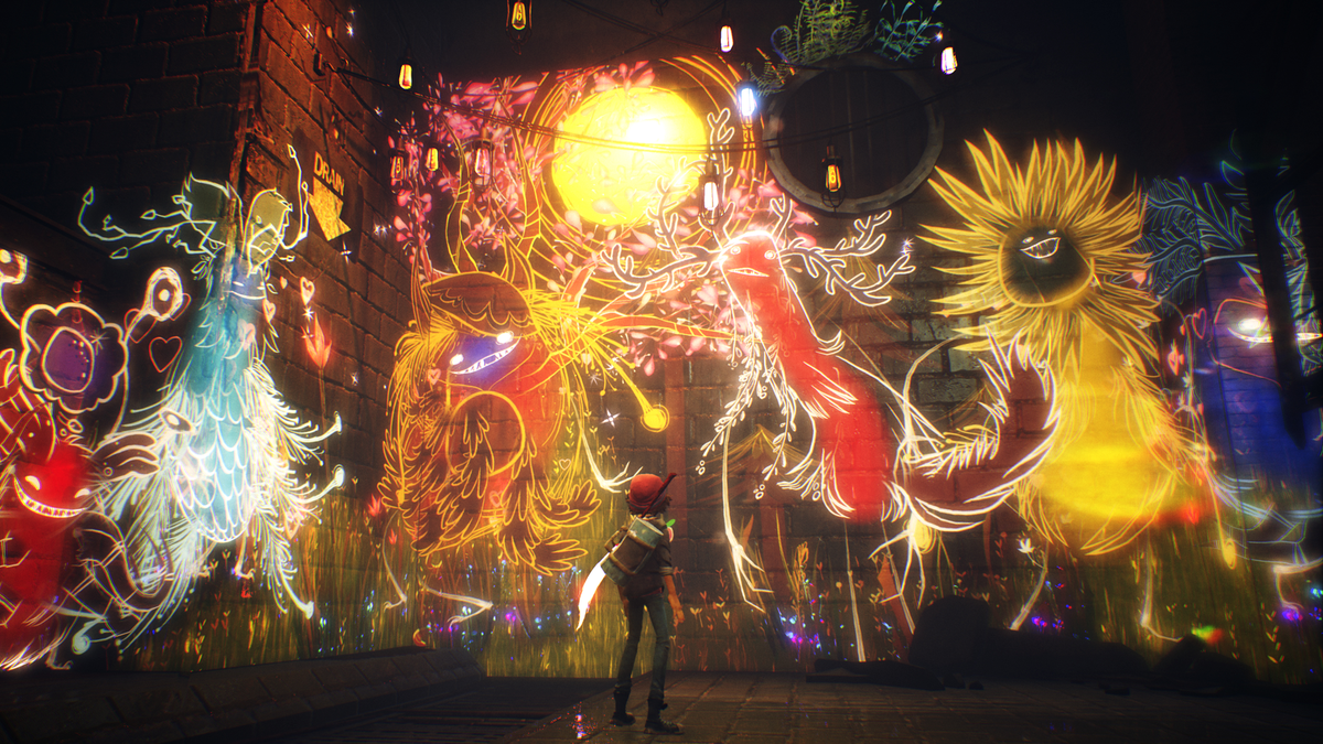 Vivid Painting Adventure Concrete Genie Will Release On PS4 In October